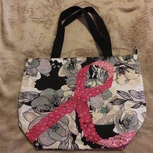 Avon Breast Cancer Floral Totebag